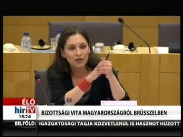 Bizottsági vita Magyarországról Brüsszelben (8)