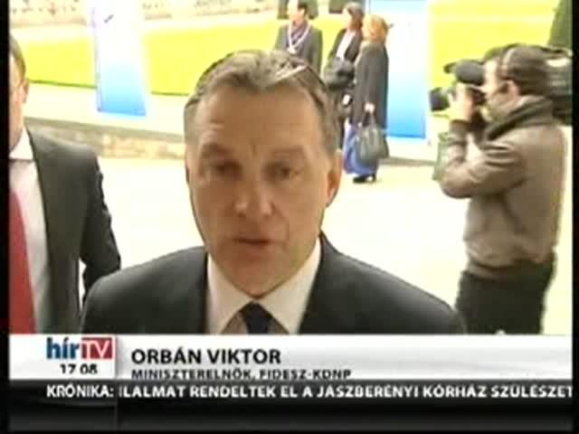 Orbán: A dolog világos