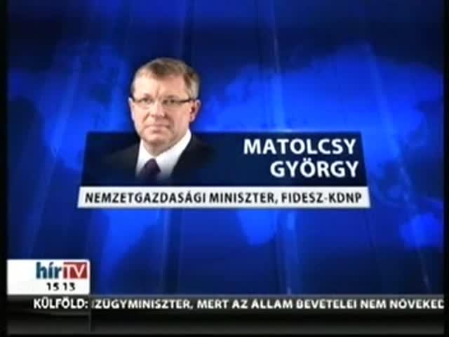 Matolcsy benyújtotta a módosító javaslatot