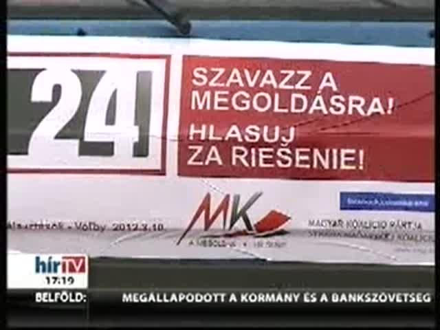 Majd félmillió magyar sorsa a 24. órához érkezett