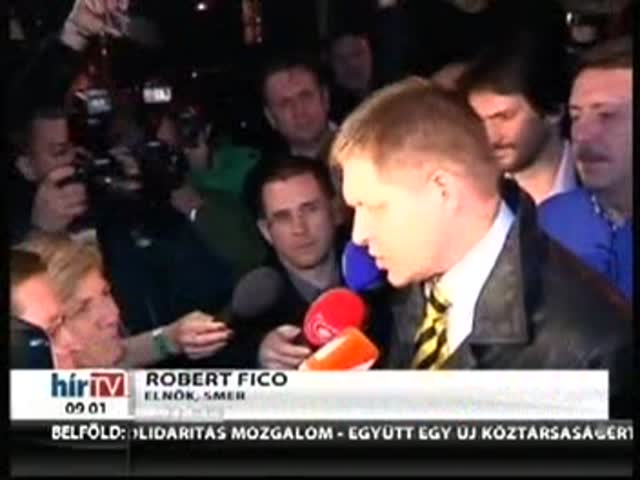 Fico elsöprő győzelmet aratott