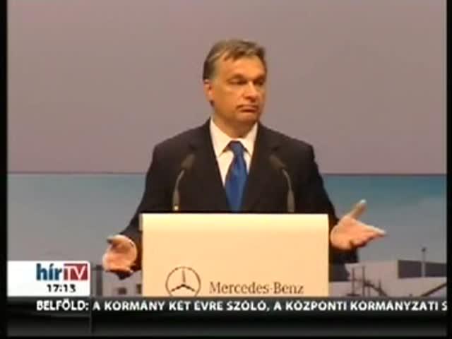 Orbán: Ez az utóbbi idők egy legjelentősebb sikere