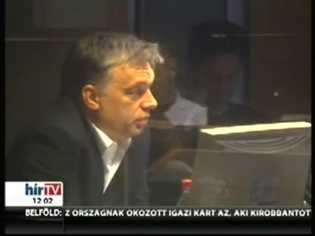 Orbán: Senki más nem dönthet