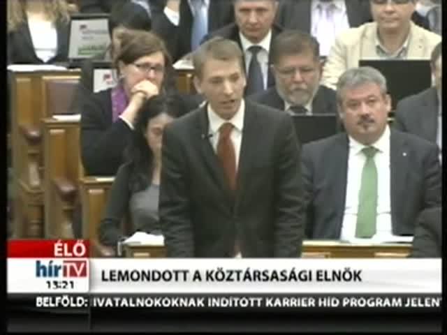 LMP: Szomorú napja ez a demokráciának