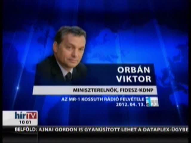 Orbán: Az EU még nem lépte át a Rubicont