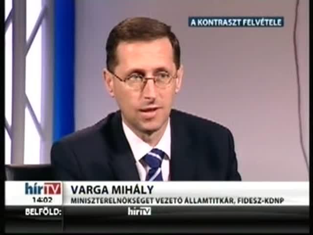 Varga: Orbán Viktor egyedül dönt a cserékről