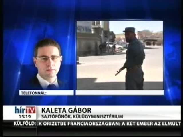 Tűzharc a kabuli magyar nagykövetségnél is