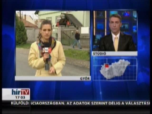 Győri leszámolás - Bejelentkezés 17 órakor