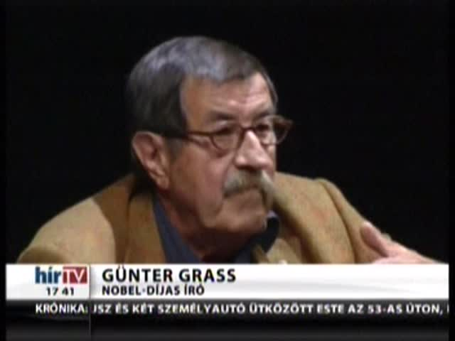Különvélemény Günter Grasstól – Hírvilág
