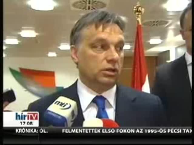 Orbán: Elhárultak az akadályok