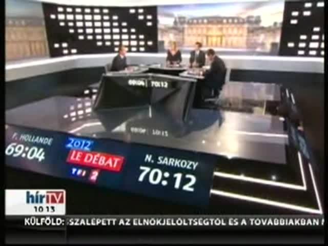 Egymásnak esett Sarkozy és Hollande