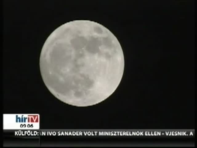 Csodálatos fotók készültek a Holdról