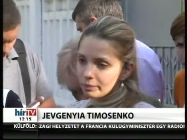 Elvitték Timosenkót
