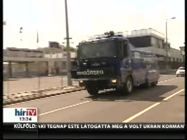 Derbi: vízágyúval és fokozott jelenléttel készül a rendőrség