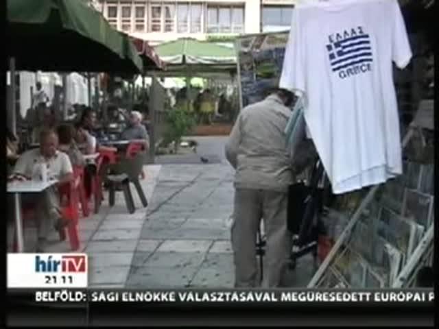 Benntartanák az euróövezetben Görögországot