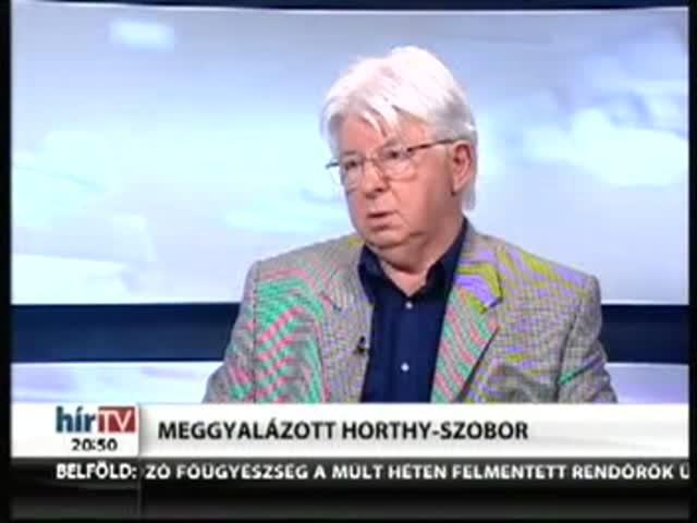 Meggyalázott Horthy-szobor – Rájátszás