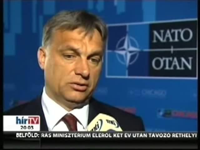 Orbán: Magyarország is hozzájárul az okos védelemhez