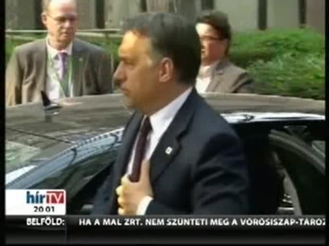 Orbán: Egyetlen eszköz van