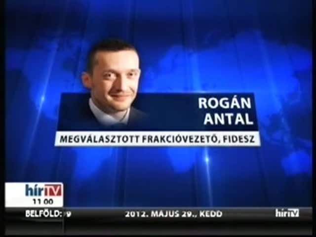 Rogán Antal lett a frakcióvezető