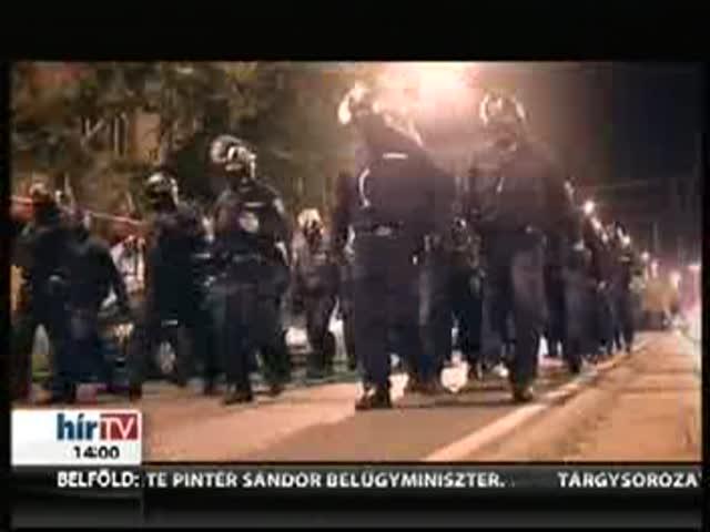 Szekeres utasítására kaptak gránátot a rendőrök