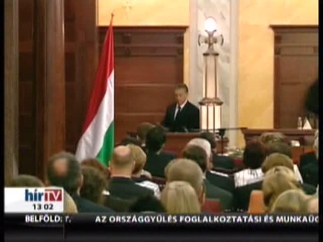 Orbán: Elmúltak azok az idők