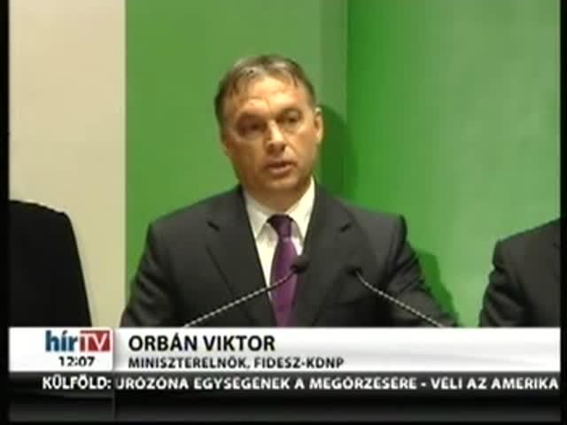 Orbán: Örömteli, hogy tisztelik a magyarokat