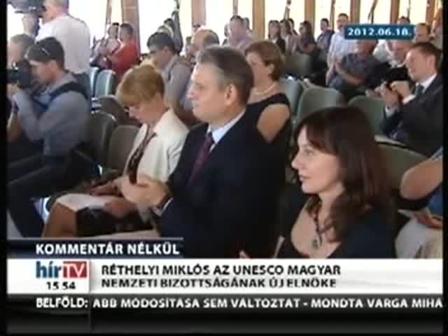 Réthelyi az UNESCO magyar bizottságának élén