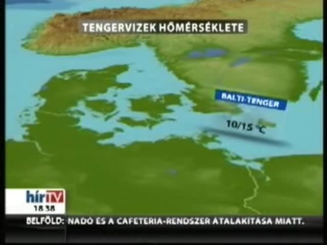 Riasztás: viharral tört be a hidegfront