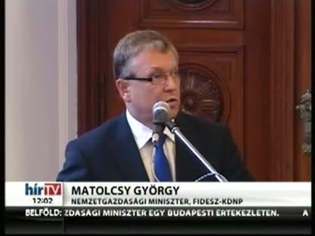 Matolcsy: Történelmi esélyt hozott a válság
