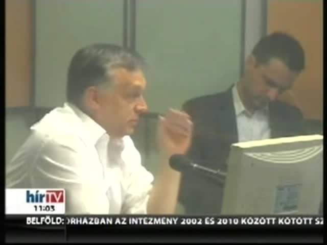 Orbán: Bármikor beeshetnek az IMF képviselői
