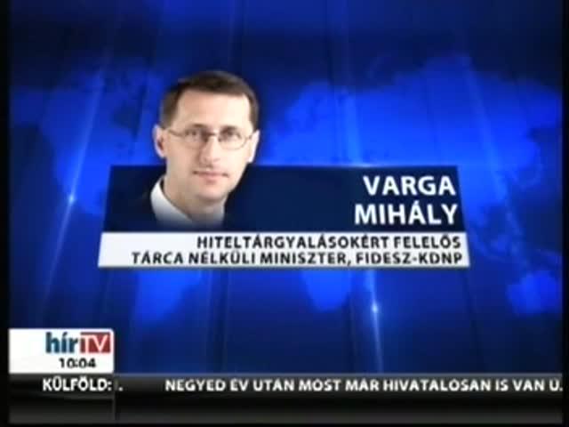 Varga: Ezek befolyásolhatják a tárgyalásokat