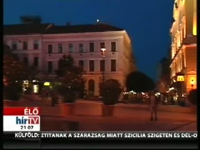 Bejelentkezés Pécsről 21 órakor