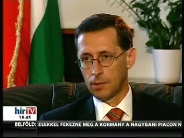 A Hír TV exluzív interjúja Varga Mihállyal