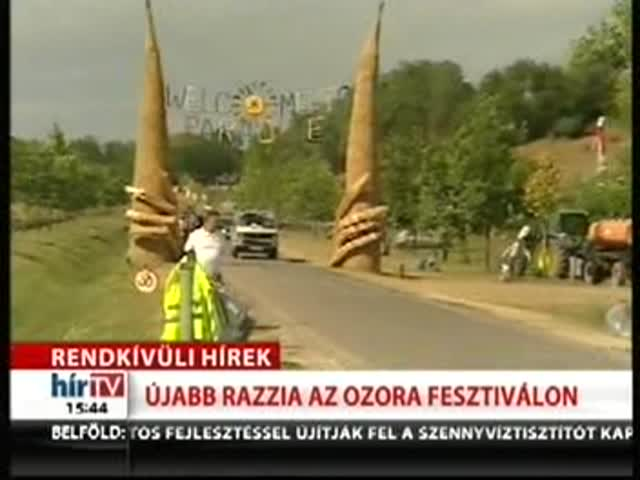 Rendkívüli hírek: újabb razzia az Ozora fesztiválon