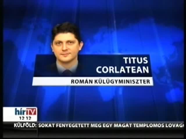 Magyarországra támadt a román külügyminiszter