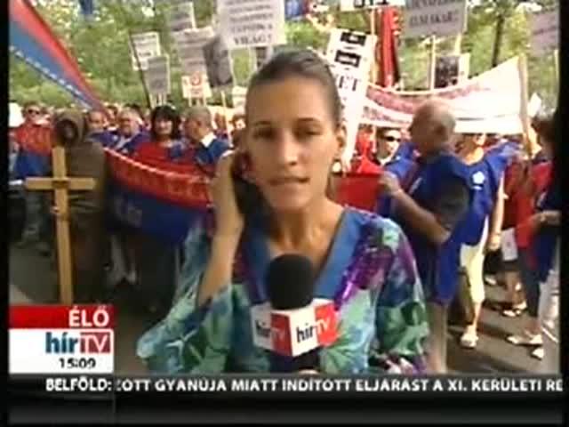 Az orosz nagykövetség előtt tüntetnek a vasmű dolgozói – bejelentkezés 15 óra