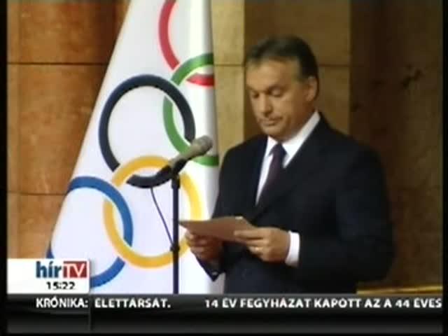 Orbán: Az egész nemzetnek szolgáltak példával