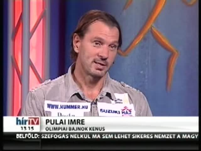 A Sportré vendége Pulai Imre