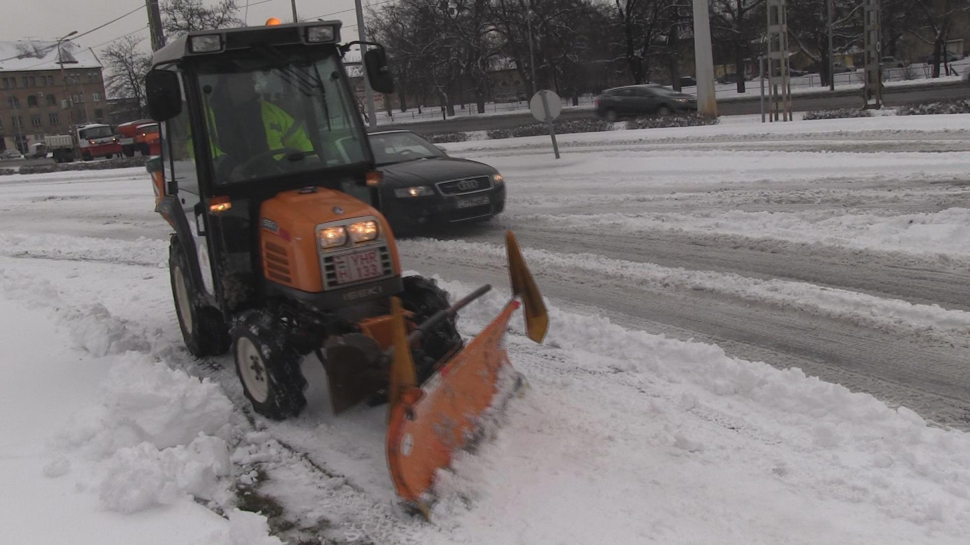 Betemette a hó Budapestet