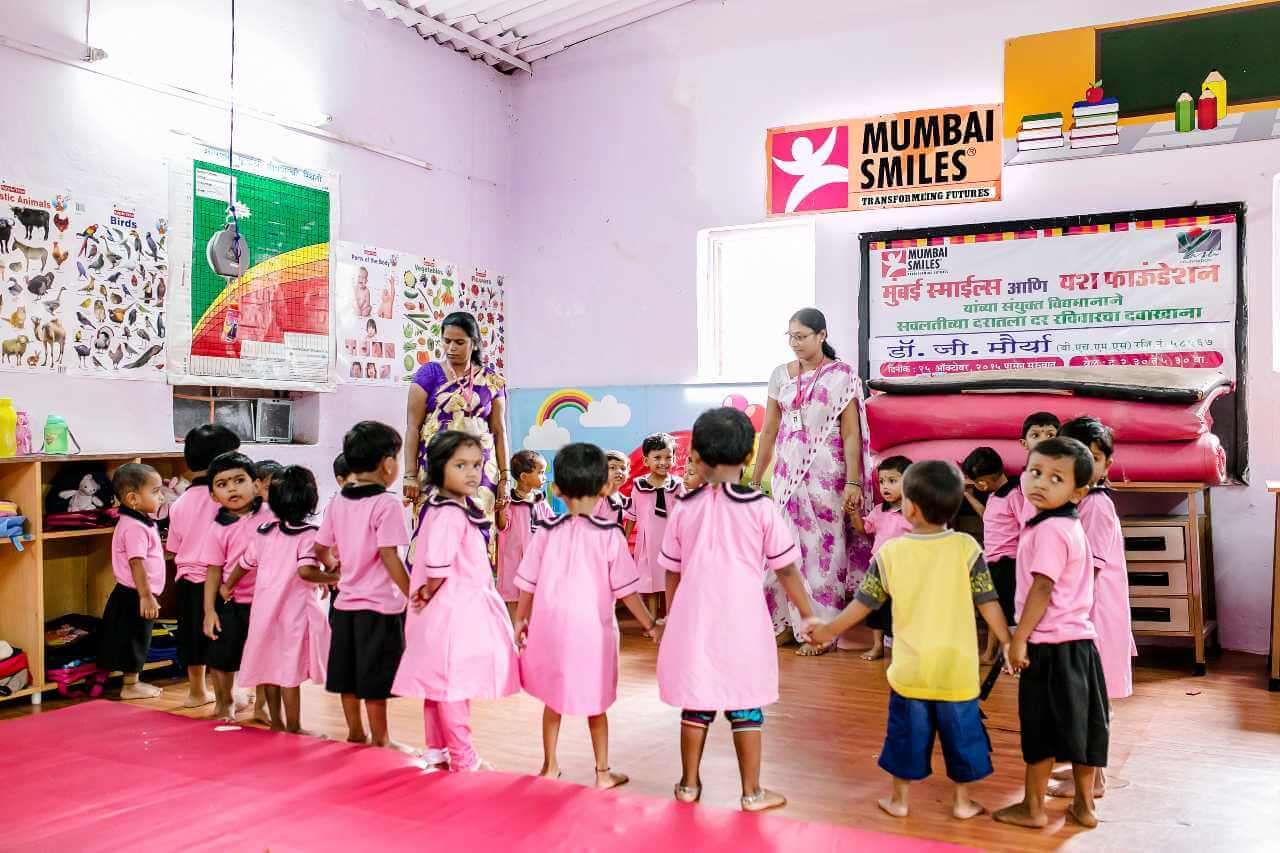 Imagen descriptiva de cabecera de la ONG Sonrisas de Bombay