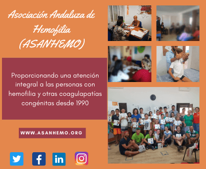 Imagen descriptiva de cabecera de la ONG Asociación Andaluza de Hemofilia