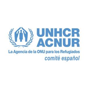 Logotipo de Asociación España con ACNUR