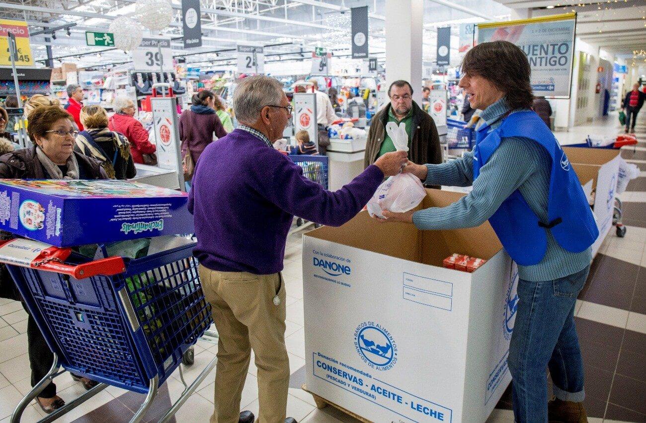 Imagen descriptiva de cabecera de la ONG Banco de Alimentos de Huelva