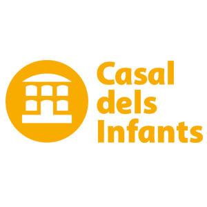 Logotipo de Casal dels Infants per a l'acció social als barris