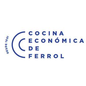 Logotipo de Cocina Económica de Ferrol