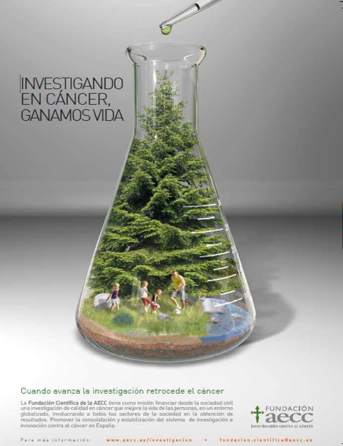 Imagen descriptiva de cabecera de la ONG Fundación Científica AECC