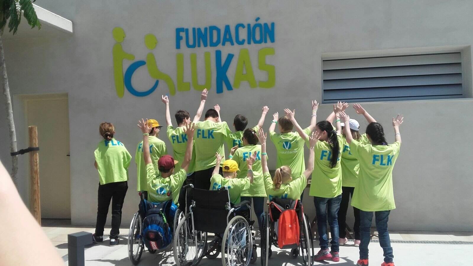 Imagen descriptiva de cabecera de la ONG Fundación Lukas, Ayuda a la Discapacidad