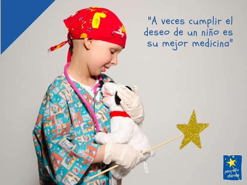 Imagen descriptiva de cabecera de la ONG Fundación Pequeño Deseo