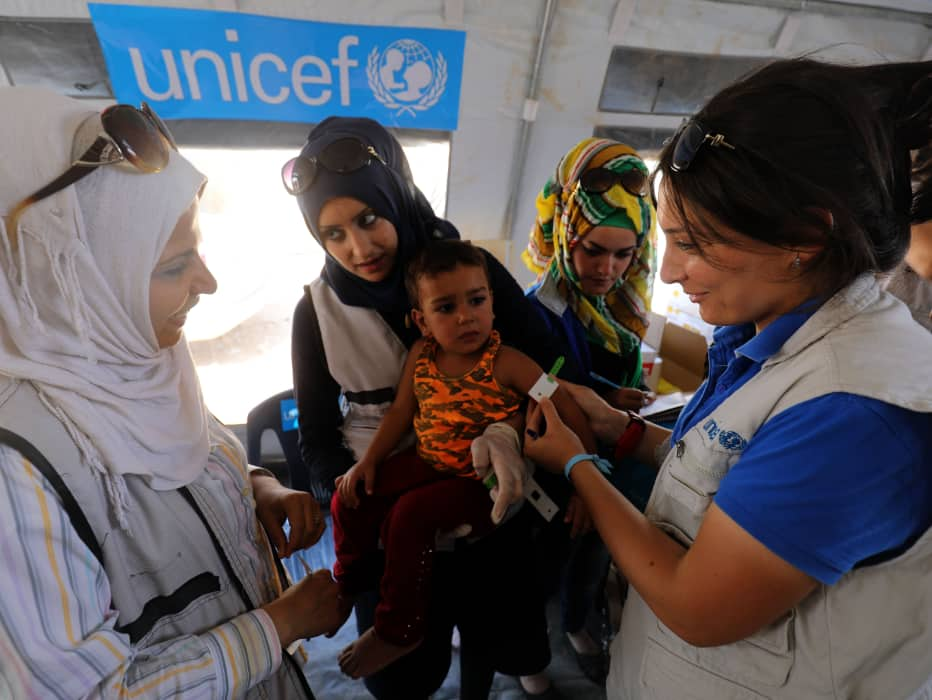 Imagen descriptiva de cabecera de la ONG Fundación UNICEF Comité Español