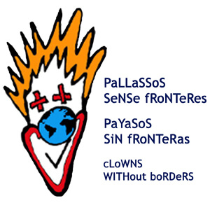 Logotipo de Payasos sin Fronteras